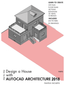 Design a House with AutoCAD Architecture 2018