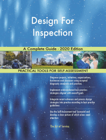 Design For Inspection A Complete Guide - 2020 Edition