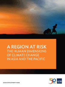 A Region at Risk: The Human Dimensions of Climate Change in Asia and the Pacific