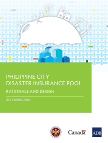 Philippine City Disaster Insurance Pool: Rationale and Design