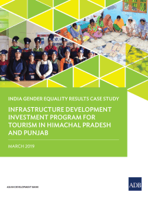 Infrastructure Development Investment Program for Tourism in Himachal Pradesh and Punjab: India Gender Equality Results Case Study