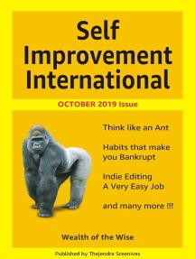 Self Improvement International: October 2019