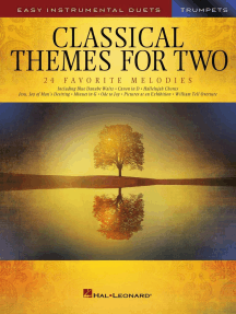 Classical Themes for Two Trumpets: Easy Instrumental Duets