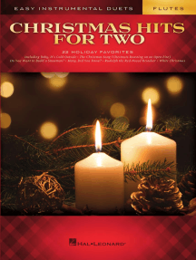 Christmas Hits for Two Flutes: Easy Instrumental Duets