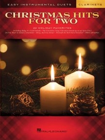 Christmas Hits for Two Clarinets: Easy Instrumental Duets