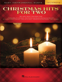 Christmas Hits for Two Trumpets: Easy Instrumental Duets