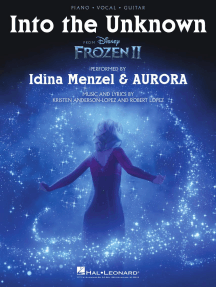 Into the Unknown (from Frozen 2) - Piano/Vocal/Guitar Sheet Music