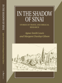 In the Shadow of Sinai: Stories of Travel and Biblical Research