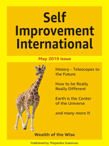Self Improvement International: May 2019