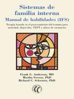 Sistemas de familia interna: Manual de habilidades (IFS)