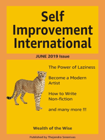 Self Improvement International: June 2019