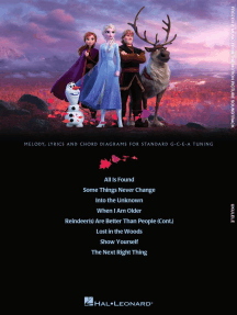Frozen 2 for Ukulele: Music from the Motion Picture Soundtrack