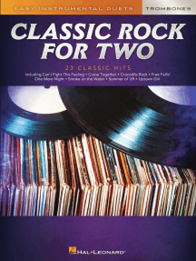 Classic Rock for Two Trombones: Easy Instrumental Duets