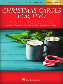 Christmas Carols for Two Trombone Duets: Easy Instrumental Duets