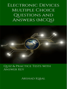 Electronic Devices Multiple Choice Questions and Answers (MCQs): Quizzes & Practice Tests with Answer Key (Electronic Devices Quick Study Guide & Course Review)