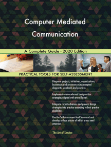 Computer Mediated Communication A Complete Guide - 2020 Edition