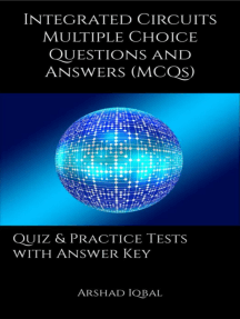 Integrated Circuits Multiple Choice Questions and Answers (MCQs): Quizzes & Practice Tests with Answer Key (Integrated Circuits Quick Study Guide & Course Review)