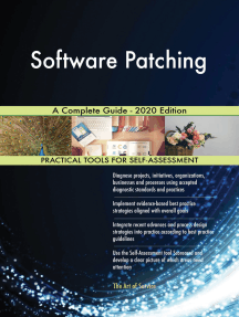 Software Patching A Complete Guide - 2020 Edition
