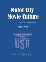 Motor City Movie Culture, 1916-1925