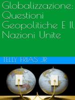 Globalizzazione: Questioni Geopolitiche E Il Nazioni Unite