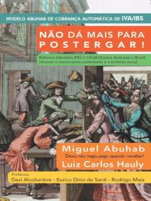 Não dá mais para postergar!: Reforma tributária (PEC no 110-2019) para destravar o Brasil, retomar o crescimento sustentado e a inclusão social