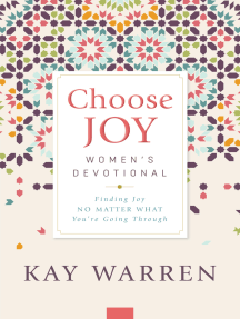Choose Joy Women's Devotional: Finding Joy No Matter What You're Going Through