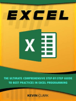 Excel : The Ultimate Comprehensive Step-By-Step Guide to the Basics of Excel Programming: 1