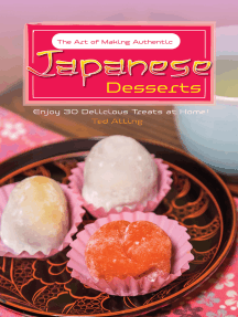 The Art of Making Authentic Japanese Desserts
