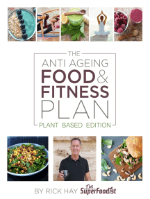 The Anti Ageing Food and Fitness Plan: Plant Based Edition
