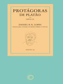 Protágoras de Platão - obras III