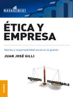 Ética y empresa: Valores y responsabilidad social en la gestión