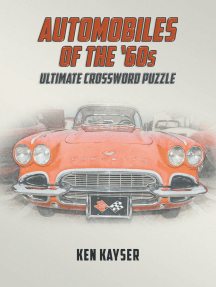 Automobiles of the '60s Ultimate Crossword Puzzle
