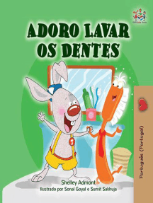 Adoro Lavar os Dentes: Portuguese - Portugal Bedtime Collection