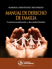 Manual de derecho de familia: Constitucionalización y diversidad familiar