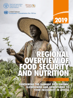 2019 Africa Regional Overview of Food Security and Nutrition