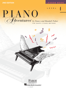 Level 4 - Lesson Book - 2nd Edition: Piano Adventures®