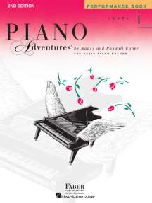 Level 1 - Performance Book - 2nd Edition: Piano Adventures®