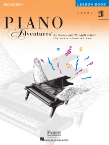Level 2B - Lesson Book - 2nd Edition: Piano Adventures®