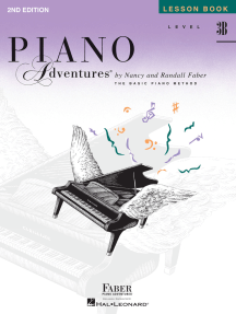 Level 3B - Lesson Book - 2nd Edition: Piano Adventures®
