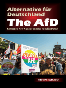Alternative fur Deutschland – The AfD: Germany's New Nazis or another Populist Party?