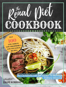 The Renal Diet Cookbook: The Complete Recipe Guide To Manage Kidney Disease
