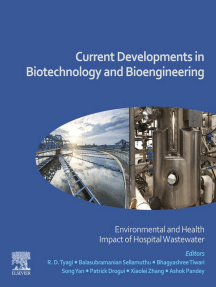 Current Developments in Biotechnology and Bioengineering: Environmental and Health Impact of Hospital Wastewater