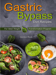Gastric Bypass Diet Recipes: For Ideal Weight Transformation Program
