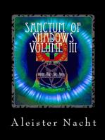 Sanctum of Shadows Volume III Spiritus Occultus
