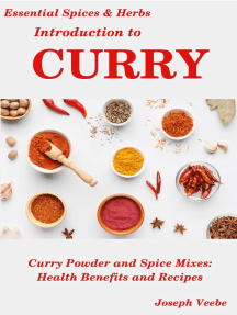 Introduction to Curry: Essential Spices and Herbs, #8