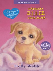 Cățelusa Ellie vrea acasă
