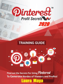 Pinterest Profit Secrets 2020 Training Guide