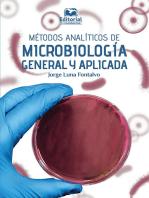 Métodos analíticos de microbiología general y aplicada