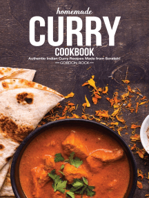 Homemade Curry Cookbook: Authentic Indian Curry Recipes Made From Scratch!