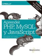 Aprender PHP, MySQL y JavaScript